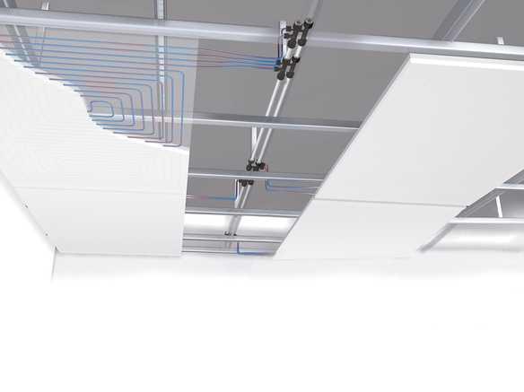 Versione per montaggio a soffitto